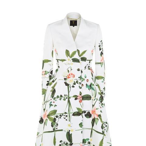 Giova Floral Coat