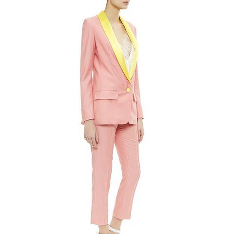 Pink Miami Tuxedo Jacket