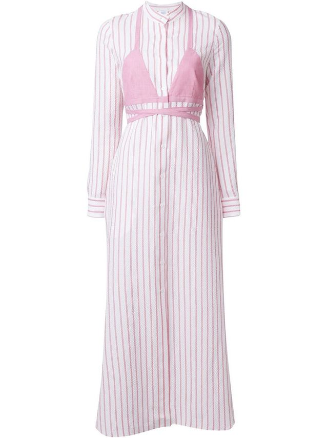 Rosie Assoulin Striped Maxi Dress