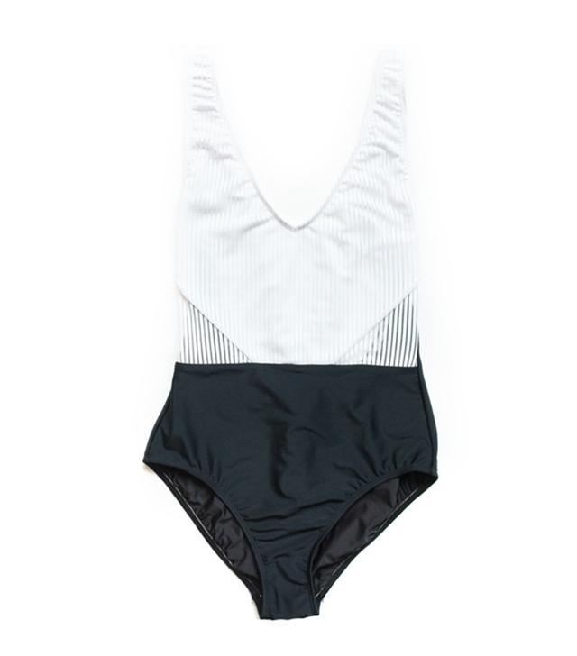 Giejo V-Neck Swimsuit
