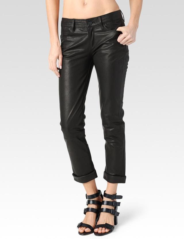 Paige Jimmy Jimmy Leather Crop
