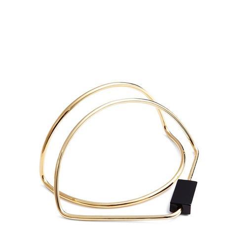 Onyx & Gold Bracelet