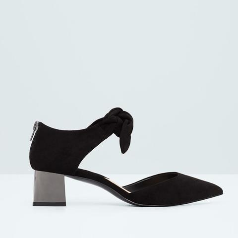 Metallic Heel Shoes