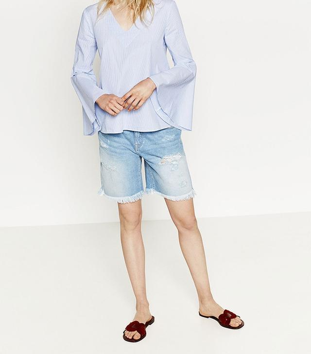 ASOS Denim Bermuda Shorts