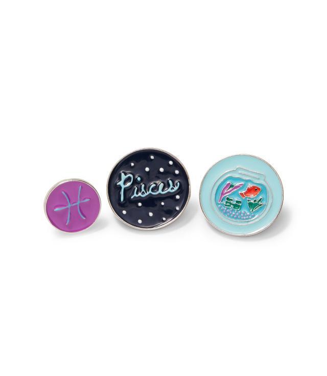 Loft Pisces Pin Set
