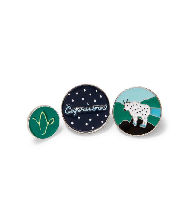 Loft Capricorn Pin Set
