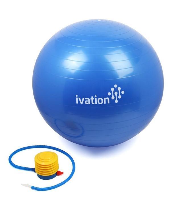 Jumbl 2000lbs Stability Ball With Pump
