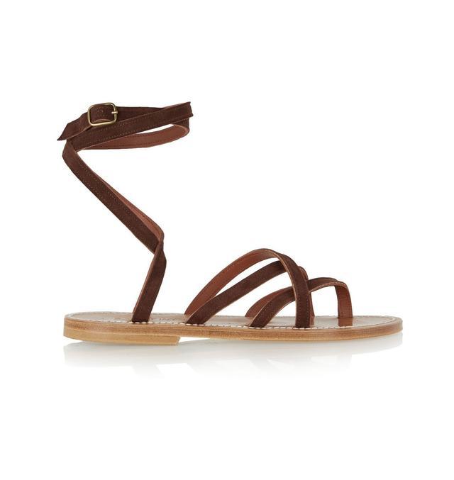 K. Jacques St Tropez Zenobie Suede Sandals