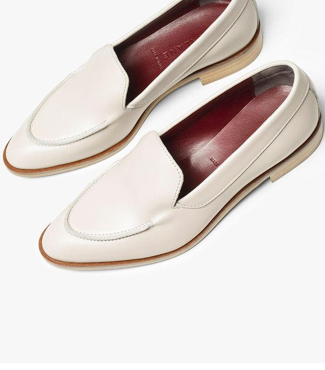 Everlane The Modern Loafer in Pale Pink