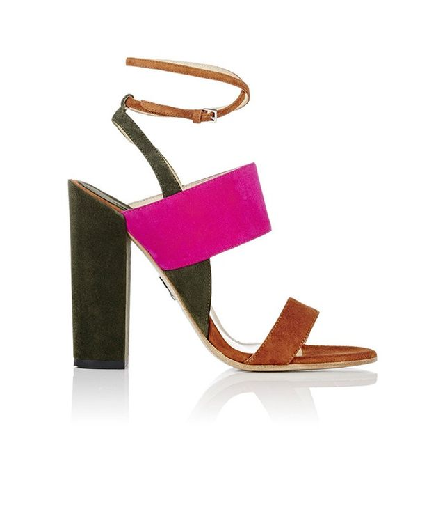 Paul Andrew Colorblocked Xiamen Sandals