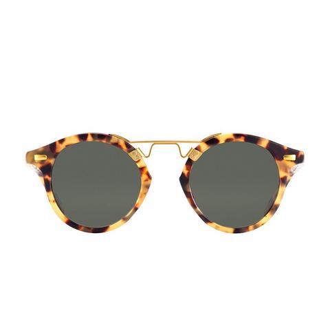 St. Louis Matte Tokyo Tortoise Sunglasses