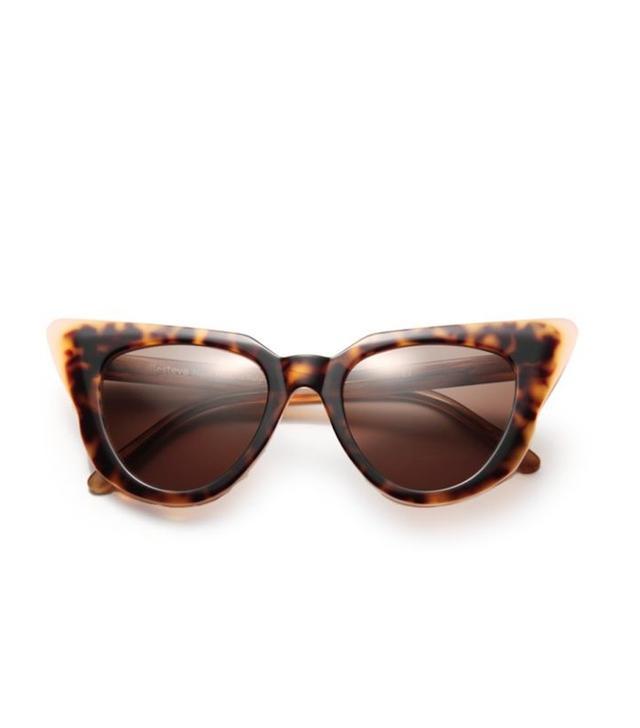 Illesteva Emmanuelle Cat's Eye Sunglasses