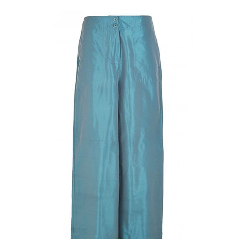 Penna Taffeta Relaxed Cargo Trousers