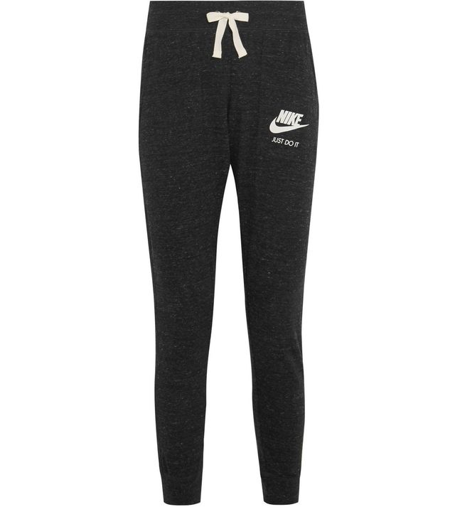 Nike Vintage Cotton-Blend Jersey Track Pants