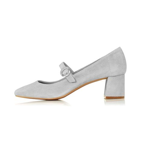 Jonno Suede Mary Jane Shoes
