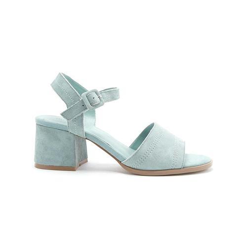 Mia Mint Stitched Heels