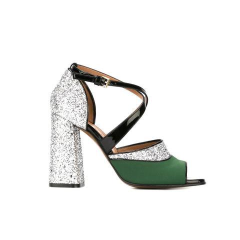 One Bang Glitter Sandals