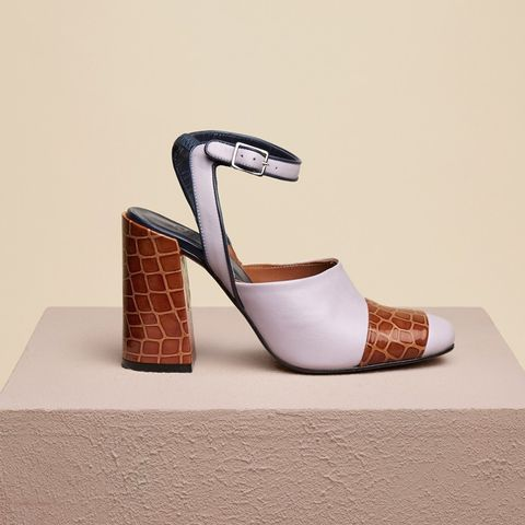 Chryssel Close Toe Ankle Strap Sandal
