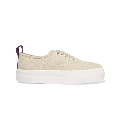 Mother Linen Sneakers