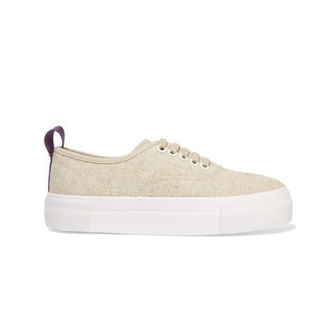 Mother Linen Sneakers