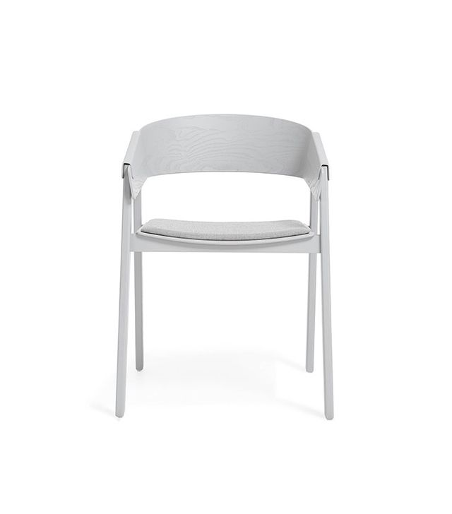 ABC Home Gray Upholstered Cover Chair