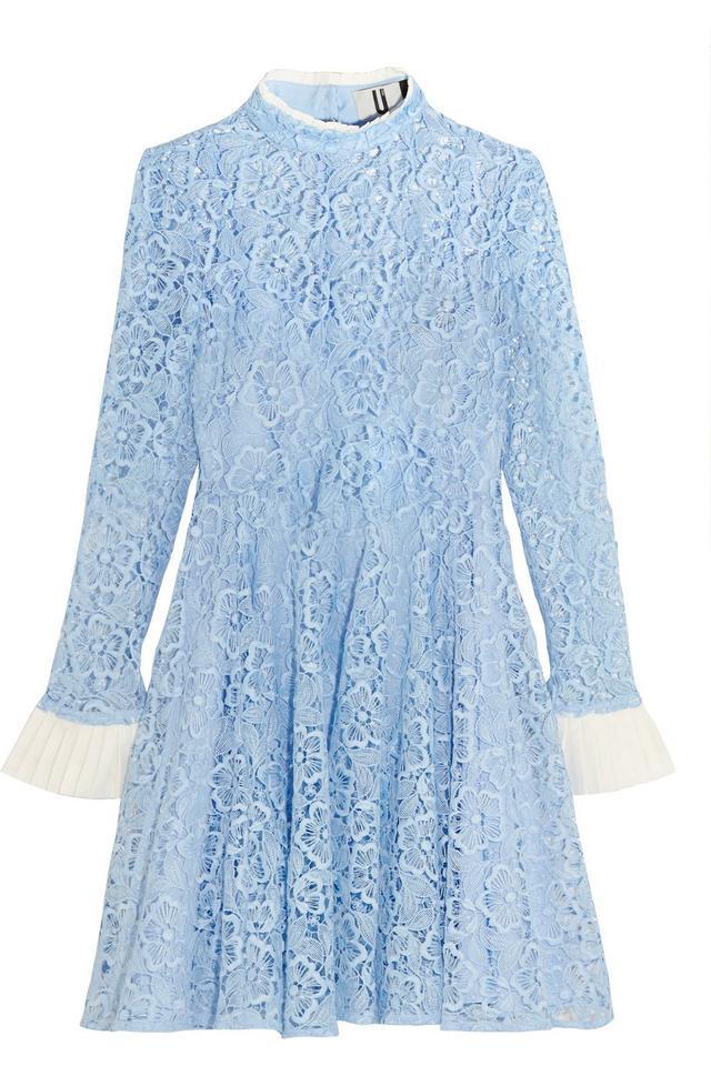 Topshop Unique Taplow Guipuire Lace Mini Dress