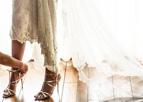 The wedding:Brittany Weinstein and Justin Pattner in Santa Barbara