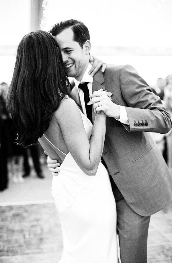 Candid Black-and-White Dancing Photos