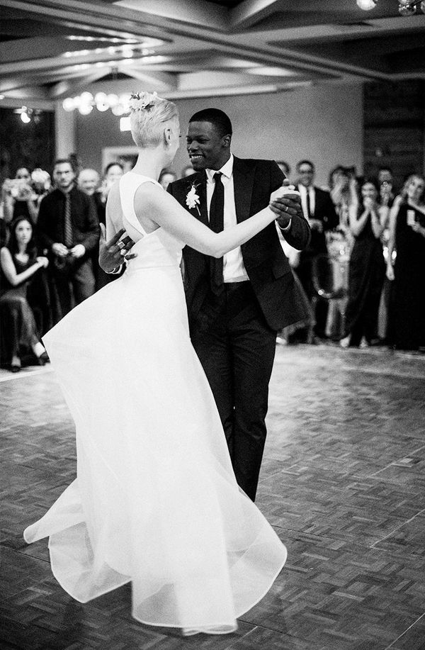The wedding:Lisa Salzer and Marlon Taylor-Wiles in Montauk