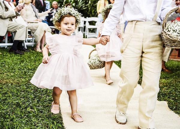 The wedding:Gabriella Campagna and Mario Milana in Colombia