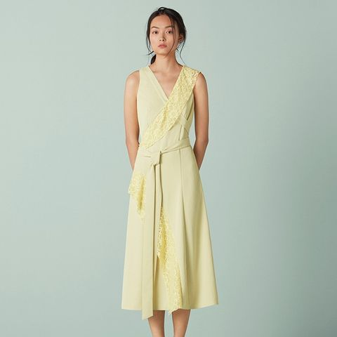Pelham Strapping and Lace Dress