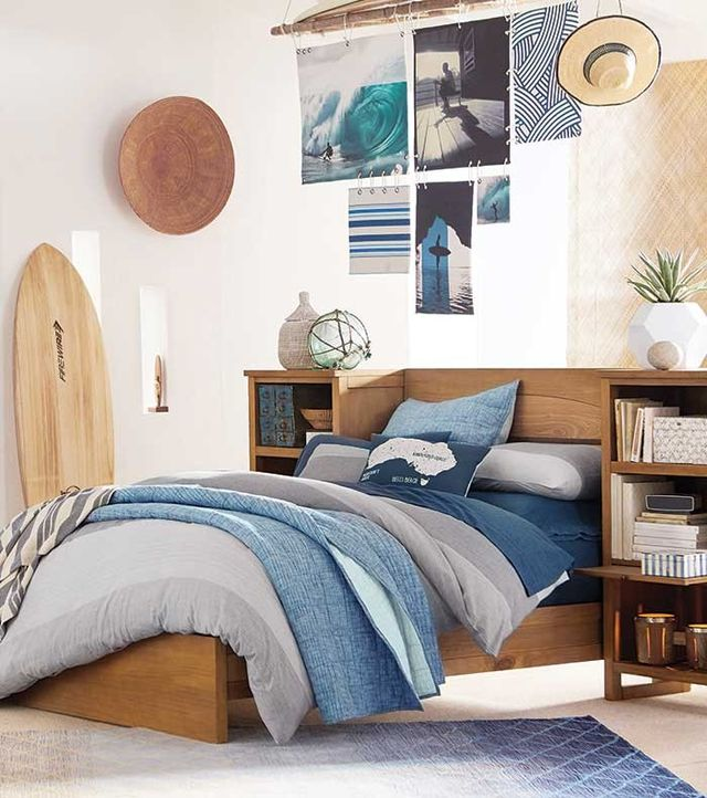 Kelly Slater for PBteen Organic Windward Texture Quilt and Sham