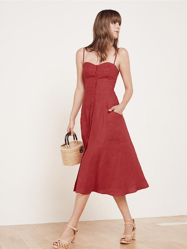 Reformation Canon Dress