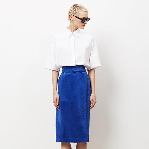 Royal Ascerabalh Suede Skirt