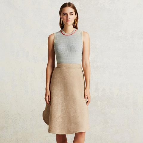 Round Hem Skirt
