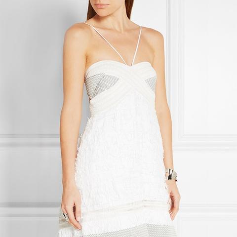 Lielle Fringed Mini Dress