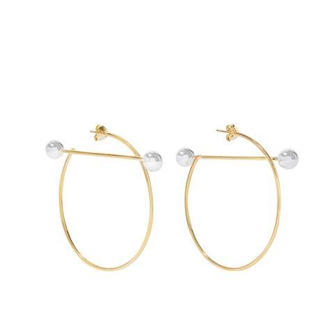 Solar Hoop Earrings