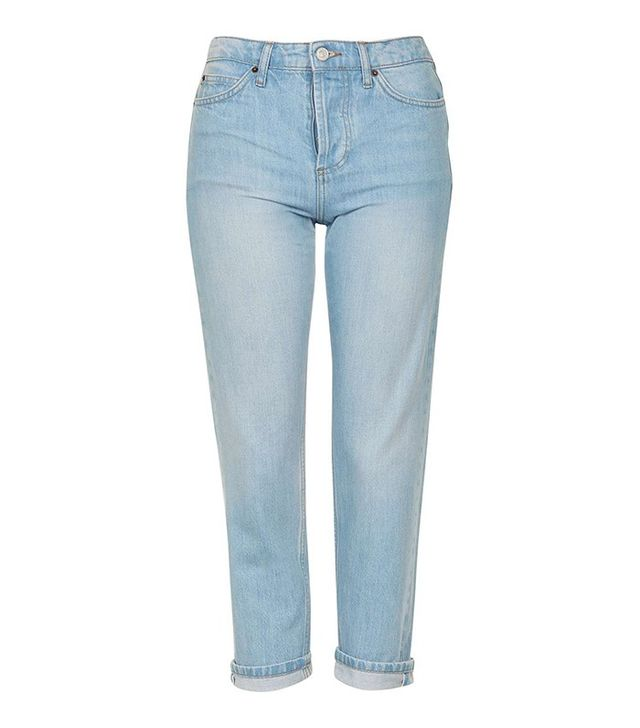 Topshop Petite Straight Jeans