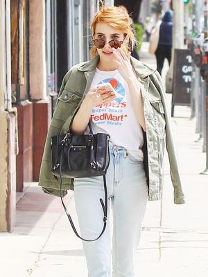 The Celeb Way to Make a Graphic T-Shirt and Jeans Look Incredible