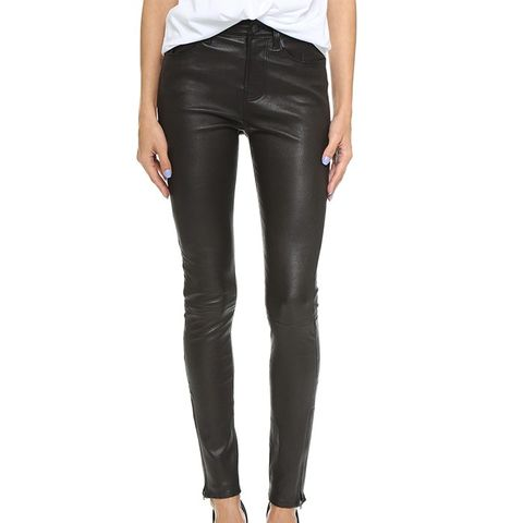 Marla High Rise Leather Pants