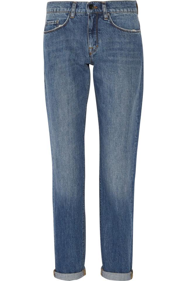 Victoria, Victoria Beckham Classic Mid-Rise Boyfriend Jeans