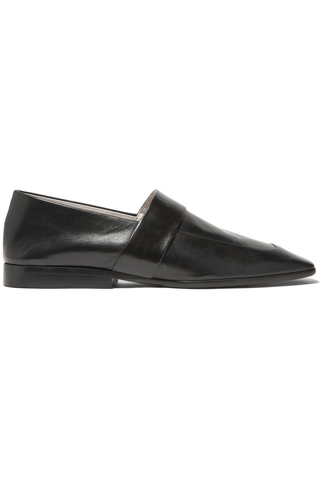 Victoria Beckham Leather Slippers