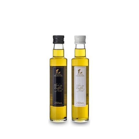 Black and White Truffle Oil Set