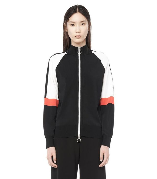 Alexander Wang Jersey Knit Track Jacket