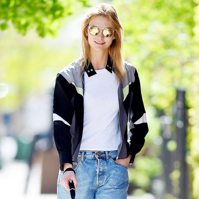 Karlie Kloss Found Your Weekend Uniform (So You Don't Have To)