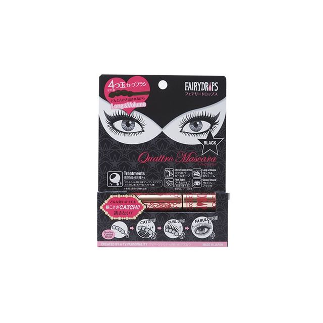 Fairydrops Scandal Queen Quattro Mascara