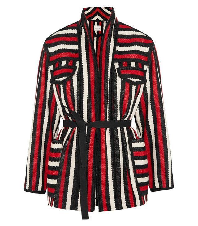 Étoile Isabel Marant Breeda Striped Wool-Blend Jacket