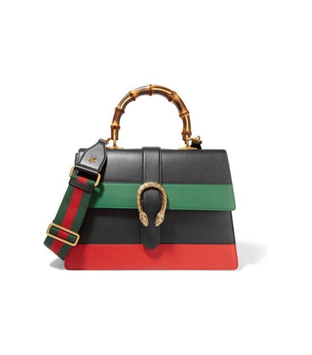 Gucci Dionysus Large Paneled Leather Shoulder Bag