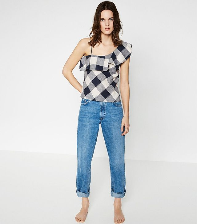 Zara Asymmetric Top