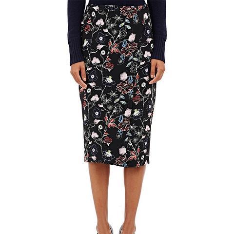 Daniels Wrap-Front Midi Skirt